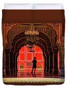 Red Gaurd Duvet Cover