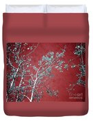 Red Glory Duvet Cover