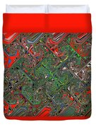 Red Green Blue Compressed Duvet Cover