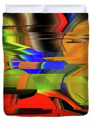 Red Green Yellow Blue Duvet Cover