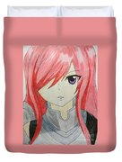 Red Haired  Duvet Cover