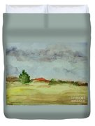 Red Hill Landscape Duvet Cover