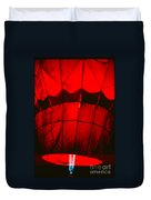 Red Hot Air Balloon Duvet Cover