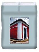 Red House Duvet Cover