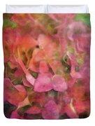 Red Hydrangea 2421 Idp_2 Duvet Cover
