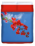 Red In The Sky Duvet Cover