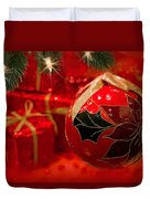 Red Is Christmas Duvet Cover
