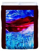 Red Lake Duvet Cover