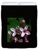 Red Lilac 1 Duvet Cover