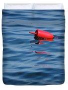 Red Lobster Buoy Duvet Cover