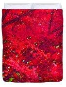 Red Maple 2 Version 1 Duvet Cover