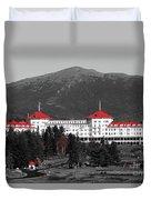 Red Mount Washington Resort Duvet Cover