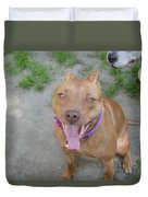 Red Nose Pitty Duvet Cover