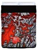 Red Oaks Duvet Cover