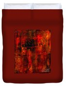 Red Odyssey Duvet Cover by Pat Saunders-White
