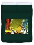 Red Pepper Bay Leaf And Thyme Duvet Cover