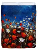 Red Poppies 451108 Duvet Cover