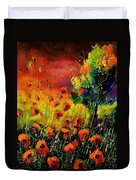 Red Poppies 451130 Duvet Cover