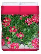 Red Punch Duvet Cover