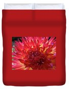 Red Purple Dahlia Flower Summer Dahlia Garden Baslee Troutman Duvet Cover