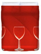 Red Red Wine Duvet Cover