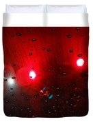 Red Reflection Duvet Cover