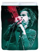 Red Right Hand, Nick Cave Duvet Cover