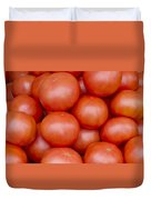 Red Ripe Tomatoes Duvet Cover