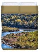Red River Bend Duvet Cover