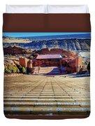 Red Rock Amphitheater Duvet Cover