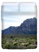 Red Rock Canyon 3 Duvet Cover