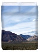 Red Rock Canyon 4 Duvet Cover