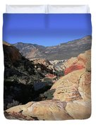 Red Rock Canyon Nv 7 Duvet Cover