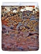 Red Rock Canyon Stones 1 Duvet Cover