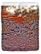 Red Rock Canyon Stones 2 Duvet Cover