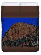 Red Rock Cliff Duvet Cover