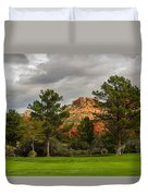 Red Rock Fairway Duvet Cover