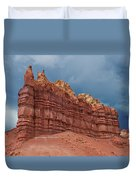Red Rock Formation Duvet Cover