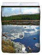 Red Rock Lake Fall Study 2 Duvet Cover