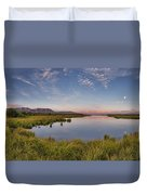 Red Rock Lakes Duvet Cover