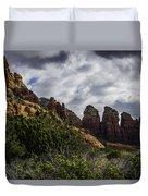 Red Rock Landscape From Sedona Arizona Duvet Cover