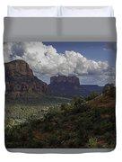 Red Rock Of Sedona Arizona Duvet Cover