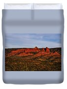 Red Rock Peaks 23 Duvet Cover