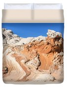 Red Rock Poseidon Duvet Cover