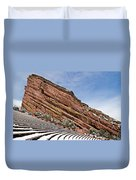 Red Rocks Amphitheater Duvet Cover