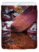 Red Rocks Duvet Cover