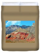 Red Rocks Nevada Duvet Cover