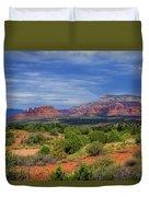 Red Rocks Of Sedona Duvet Cover