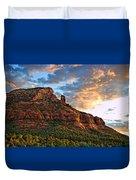 Red Rocks Sedona, Az Duvet Cover