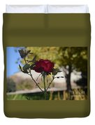 Red Rose 1 Duvet Cover